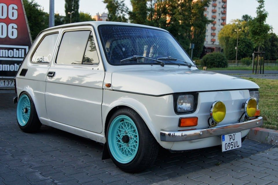 Fiat 126p Tuning With Images Fiat 126 Fiat Cars Fiat 500