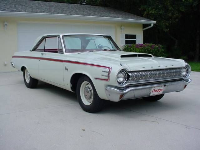 1964 Dodge Coronet '64 Dodge 426 Max Wedge Cross Ram 2x4's V8 ...