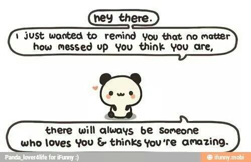 My love sent this to me. So cute! :3