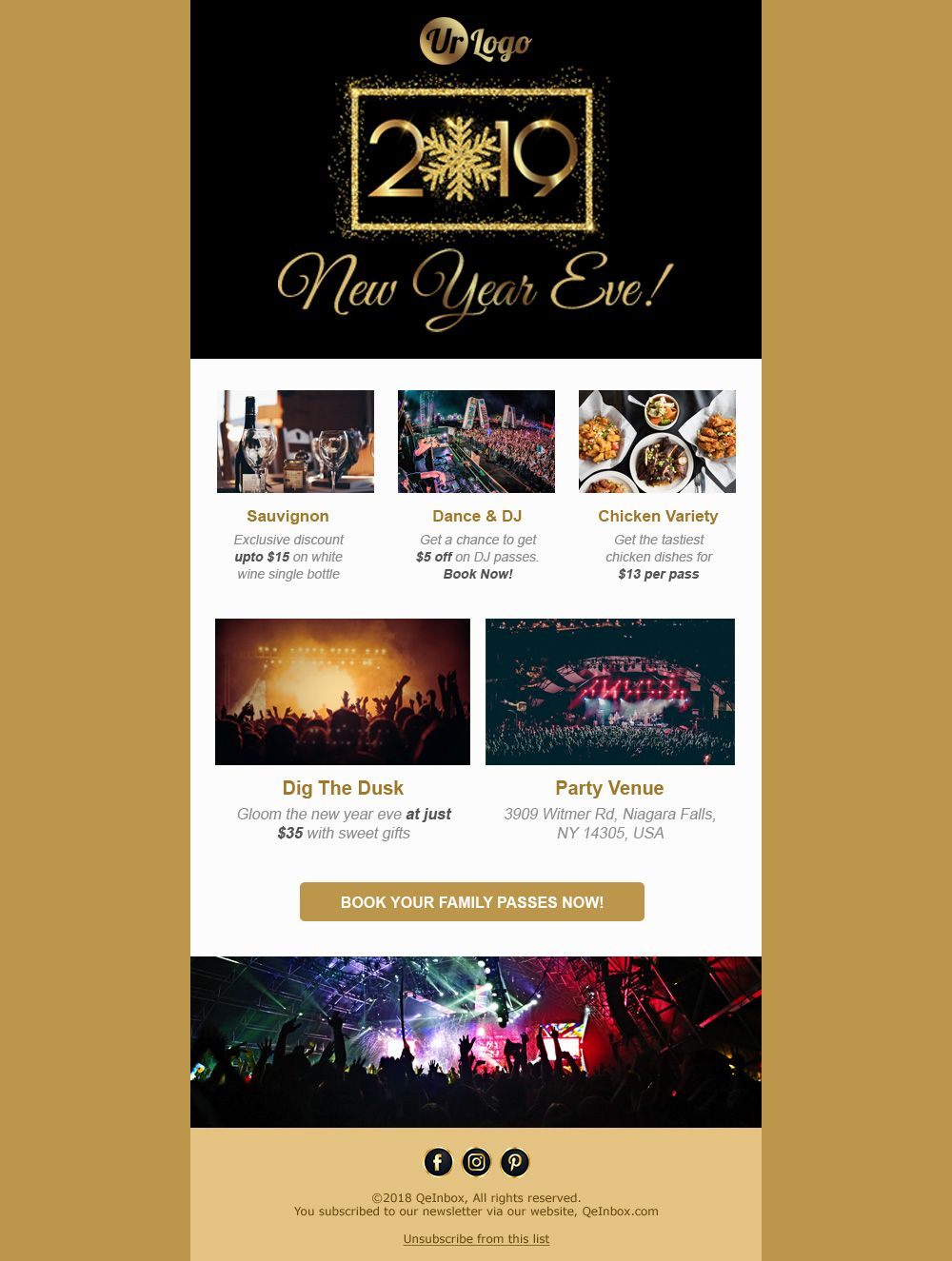 New Year Email Template Email Templates Free Email Templates Free Html Email Templates Happy new years email template