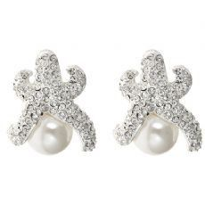 PURSELADYTOO - Starfish and Pearl Earrings, $38.00 (http://www.purseladytoo.com/starfish-and-pearl-earrings/)
