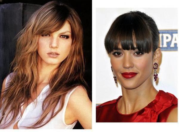 Peinados para disimular entradas en mujeres