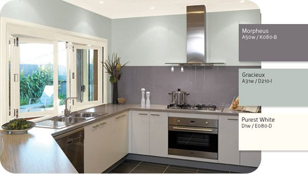 White Kitchen Feature Wall white kitchen feature wall and more on ah kitchens c to decorating