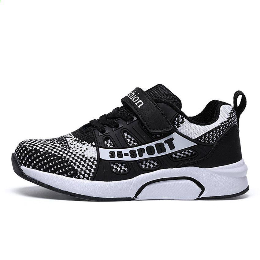 Pu Tian Dziewczeta Chlopcy Antyposlizgowe Buty Sportowe Dzieciece Dzieciece Miekkie Dno Trampki Dzieci Dorywczo Plaskie Tramp Sketchers Sneakers Shoes Sneakers