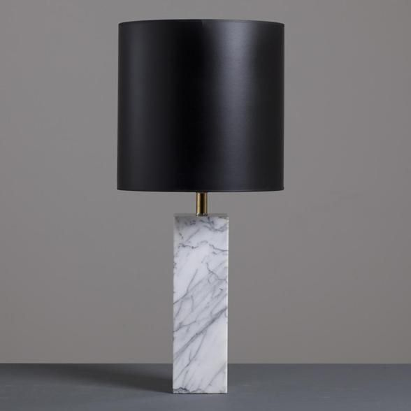 Luxury Marble And Glass Lamp Table And Marble Table Lamps Sale