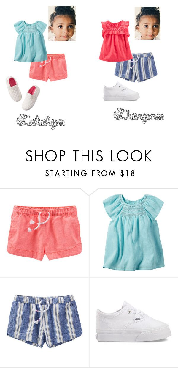 """""""Easter 2016"""" by iamkenzie ❤ liked on Polyvore featuring Carter's and Vans"""