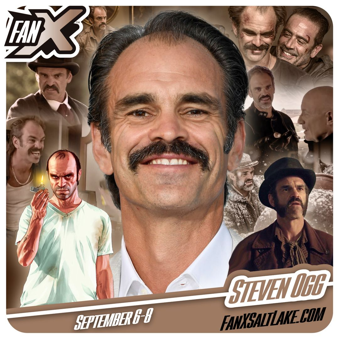 Meet actor Steven Ogg at #FanX18 #SLCC18! Best known as