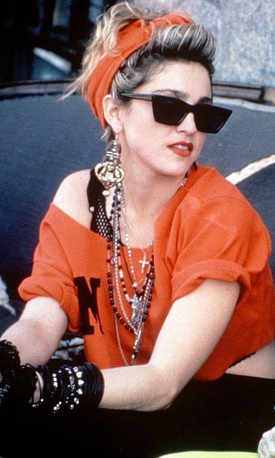 Instereo Madonna Fashion Madonna 80s Fashion Madonna 80s