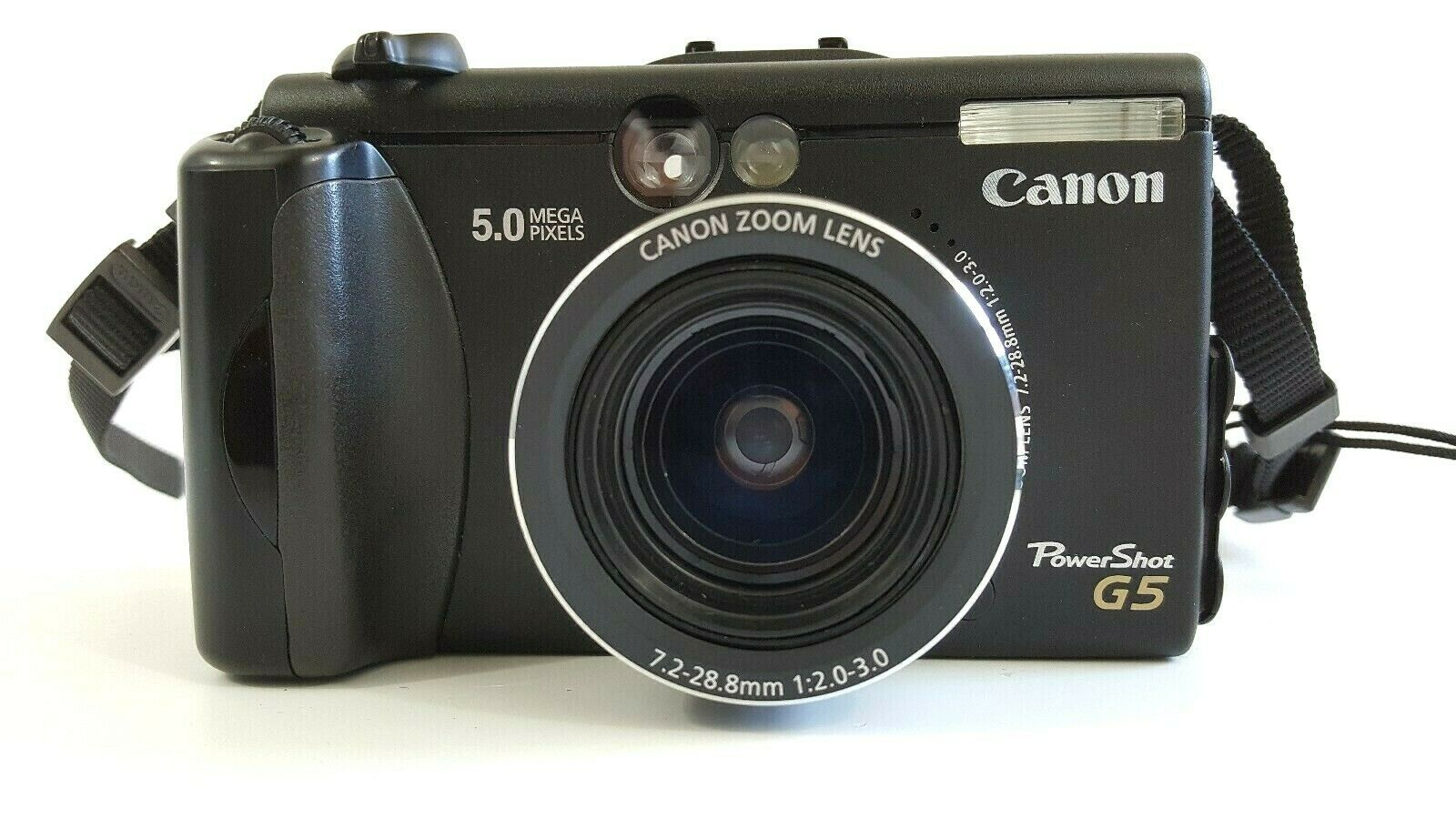 Canon PowerShot G5 5.0MP Digital Camera Black All Parts
