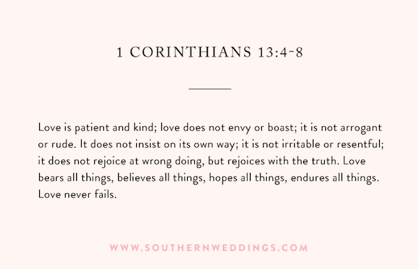 1 Corinthians 13 Wedding Reading.The Best Wedding Ceremony Readings Wedding Plans Wedding