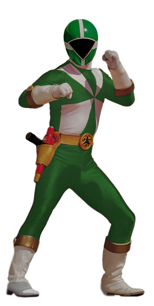 Lightspeed Rescue Green Ranger Transparent By Camo Flauge Power Rangers Jungle Fury Green Power Ranger Power Rangers Spd Morpher