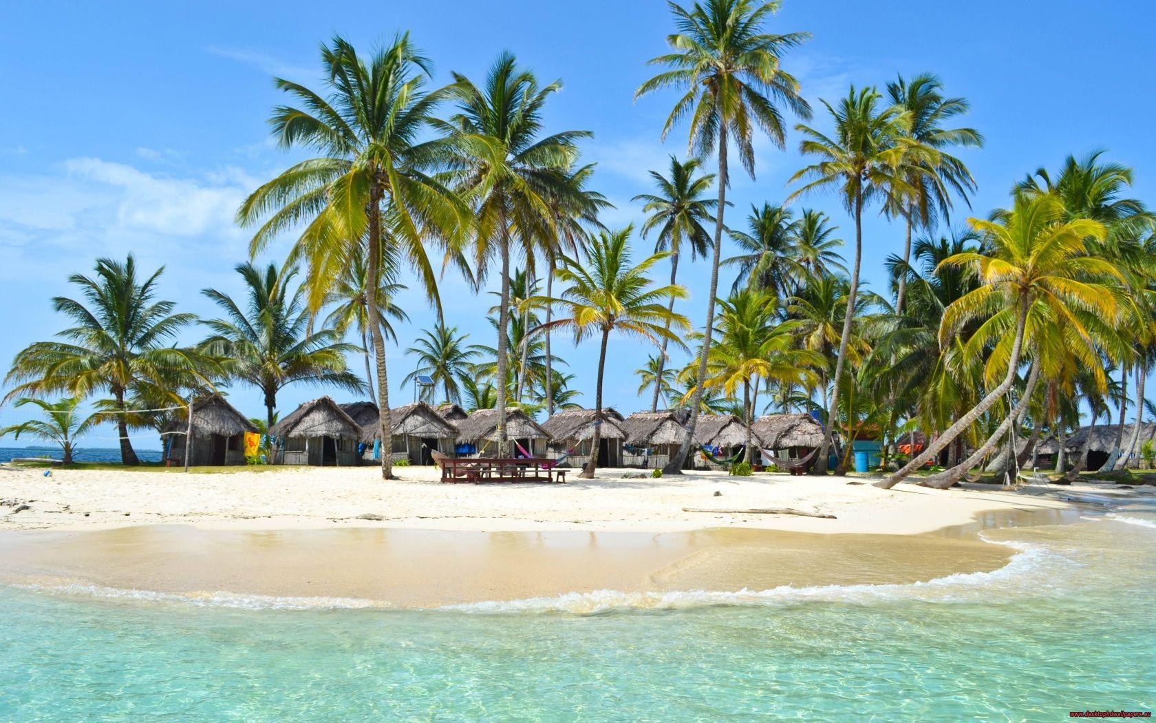 Maldives Tropical Resort Wallpaper In 1680x1050 Resolution Malediven Panama Reise Strandideen