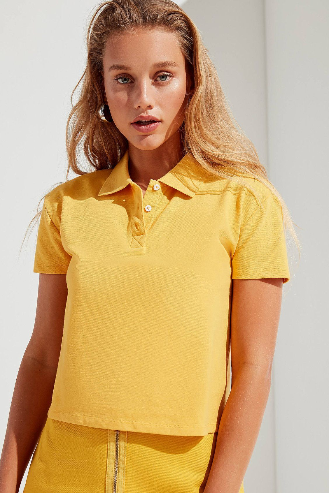 Uo Tate Tennis Polo Shirt Polo Shirt Women Shirt Outfit Women Polo Shirt Outfit Women S
