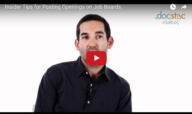 Insider Tips For Posting Openings On Job Boards Job Board Job Post