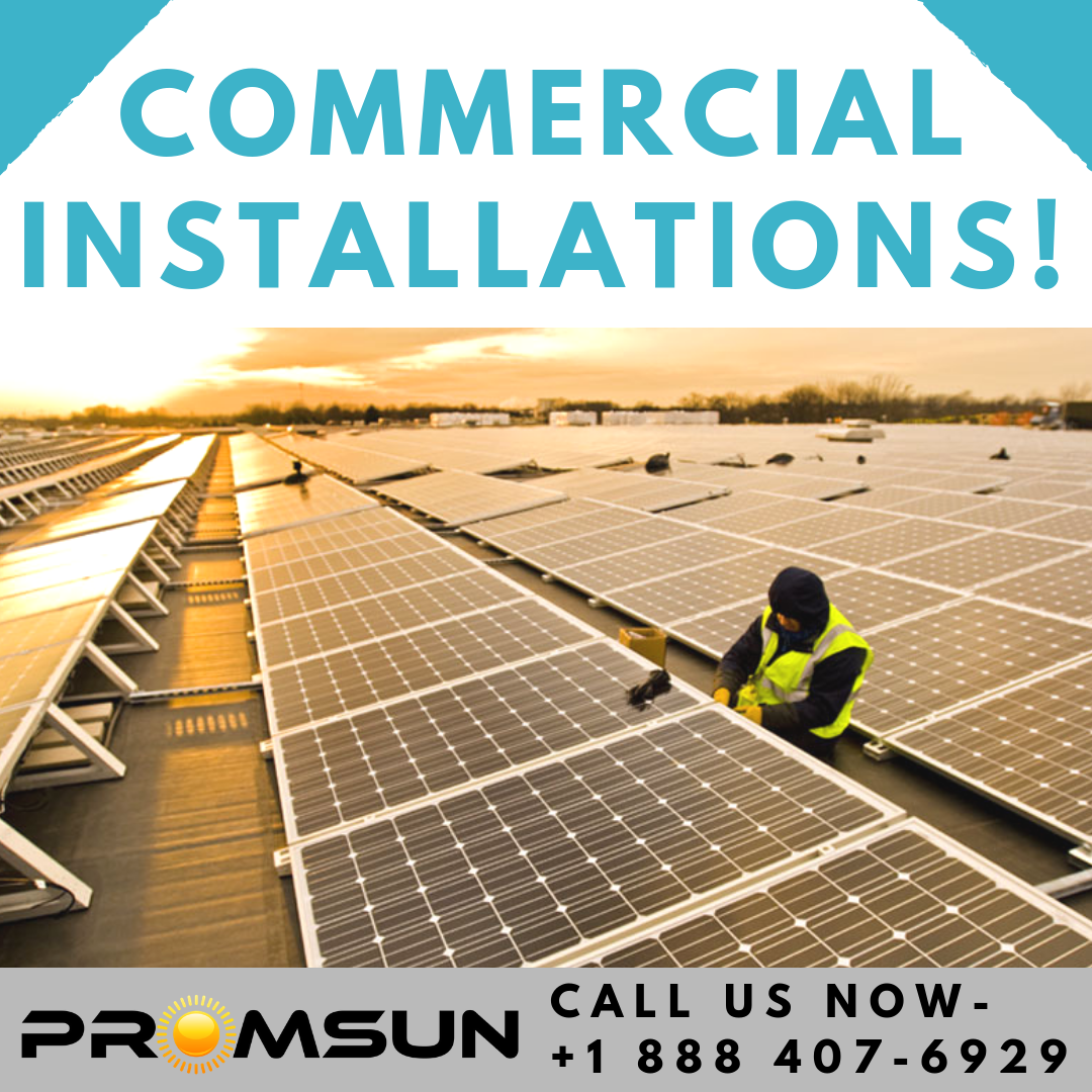Our Commercial Solar Division Covers Small Energy Solutions Using Equipment From The World S Leadin Solar Installation Solar Companies Residential Solar Panels