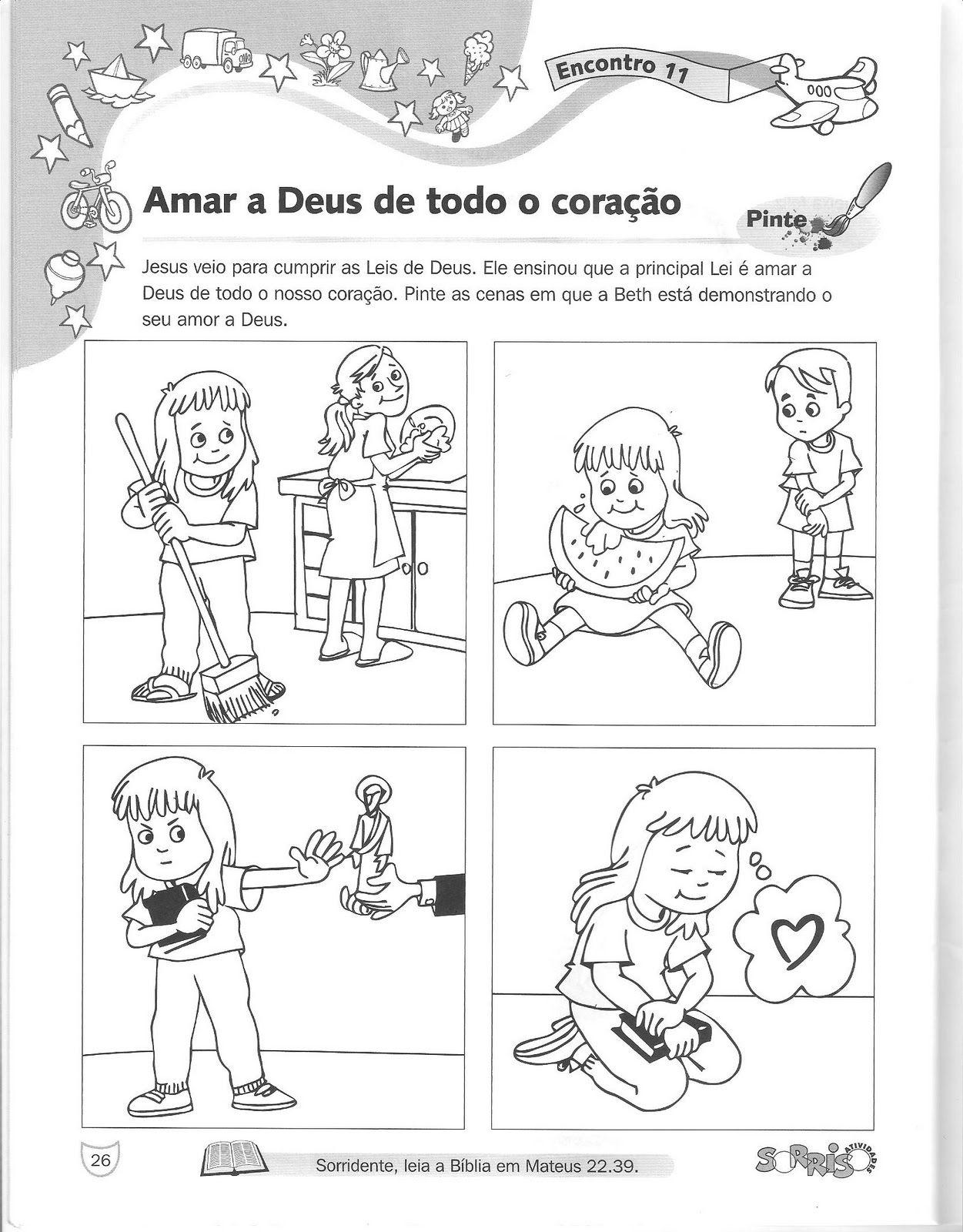Suficiente Blog Tia Alê, educação cristã, ministério infantil, aulas  VV59