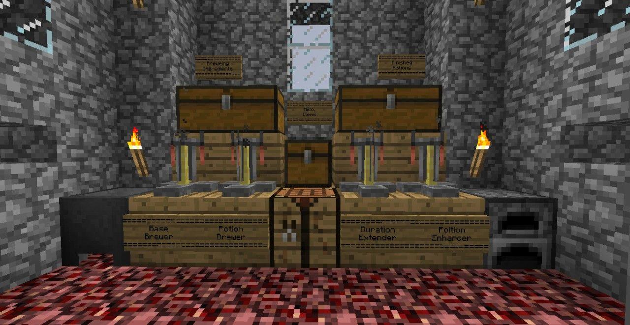 Nice Minecraft Room Decor With