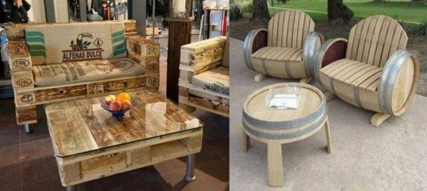 Tables basses insolites et originales meubles en palette - Table salon originale ...