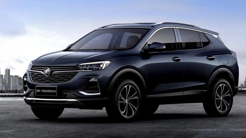 Buick Mostro El Encore Gx Algo Mas Grande Que El Encore Del 2020 Autos Motores General Motors