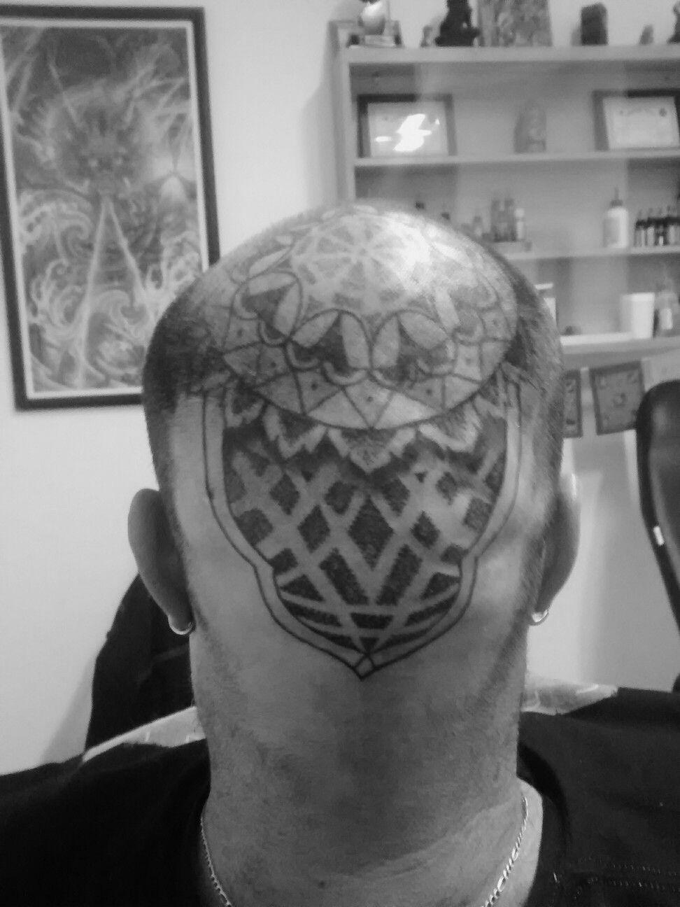 Mandala cabeça