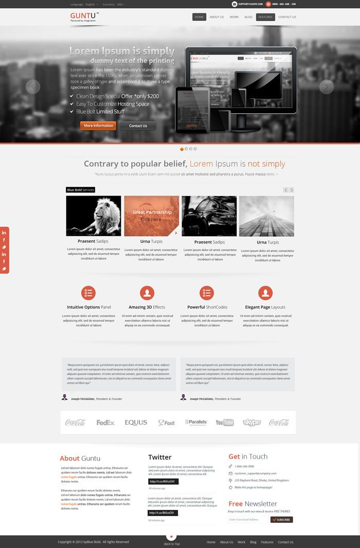 Modern Website Layout Designs For Inspiration | Web Design ...