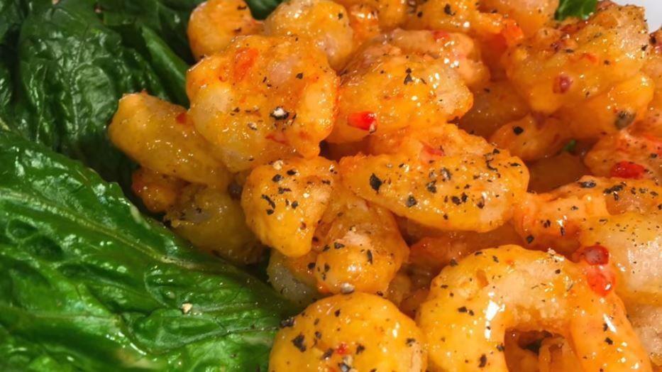 Keto Air Fryer Firecracker Shrimp