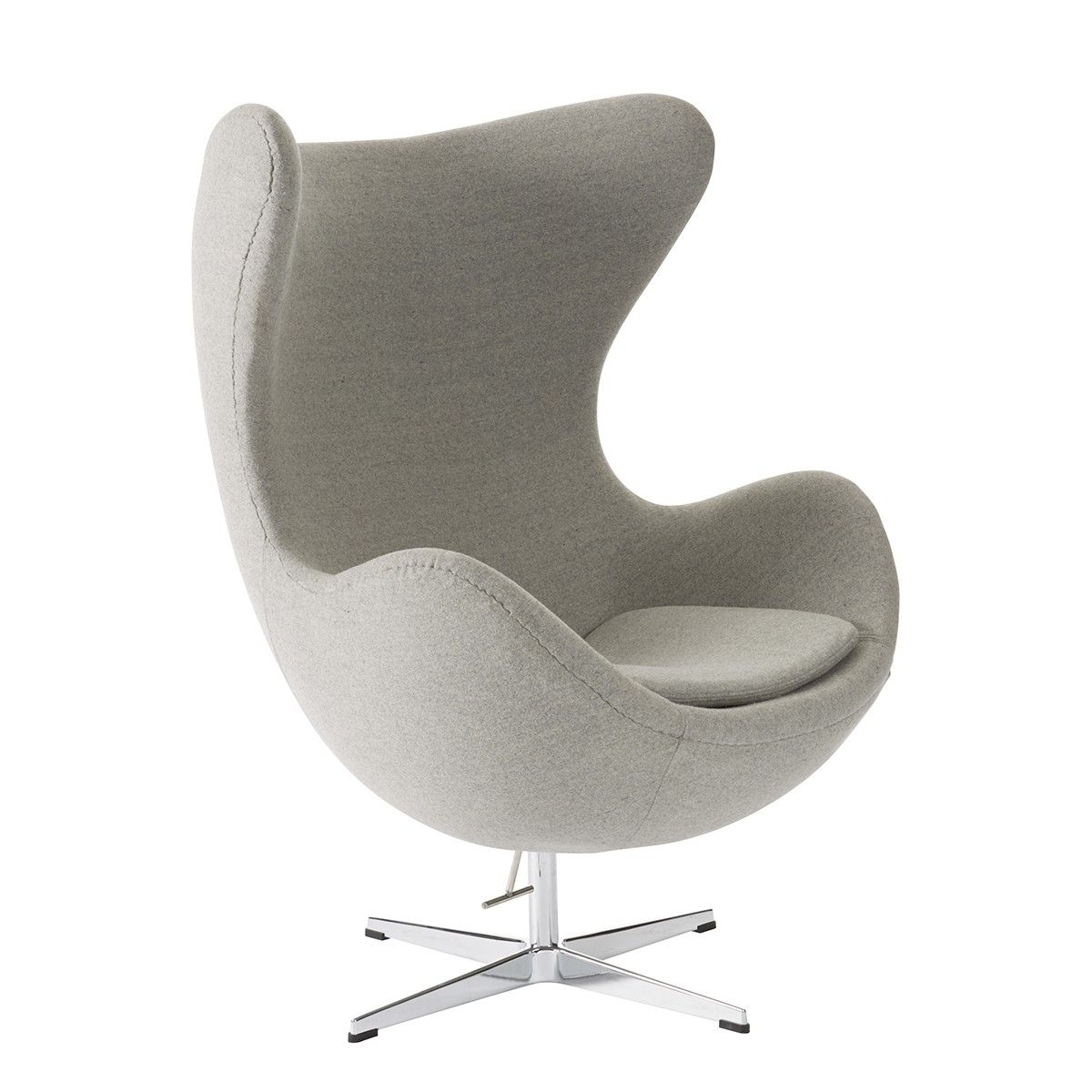 Replica Arne Jacobsen Egg Chair   Wool Blend   Chairs Nick Scali Online  $649 + Delivery
