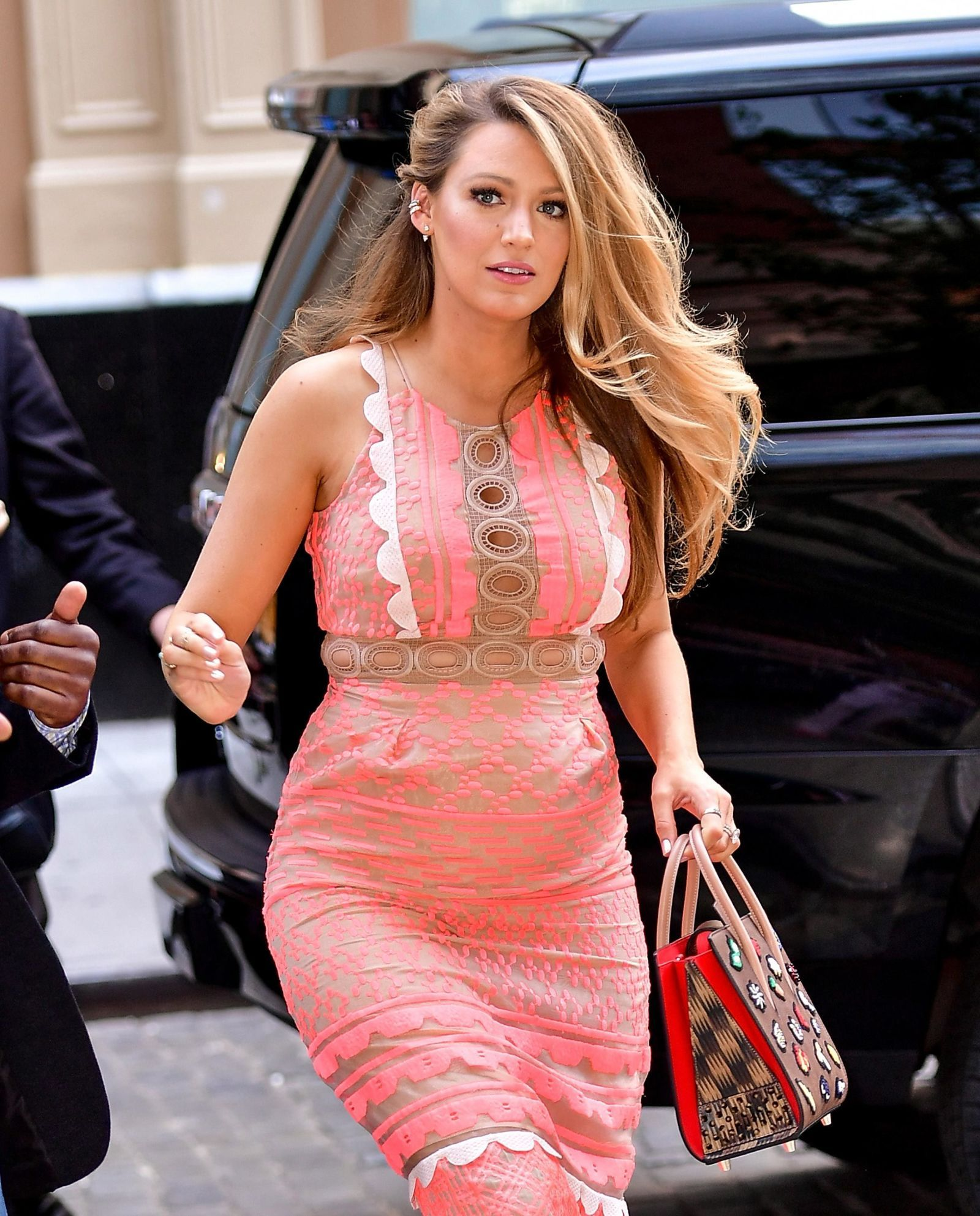 Blake Lively Has Never Looked Prettier Than in This Pink Dress