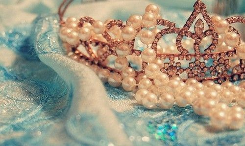 Tiara and Pearls ♥ cuz your never to old for a tiara! ;)