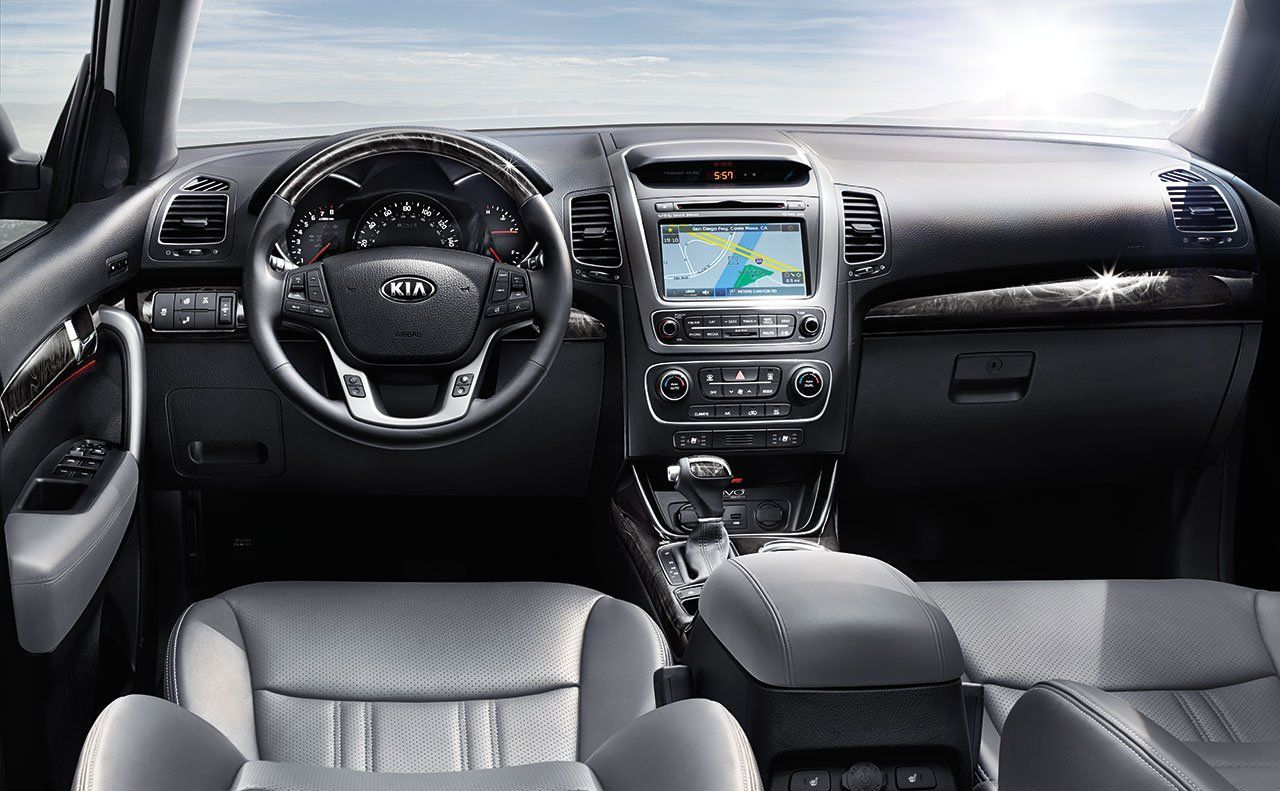2015 kia sorento crossover suv heated leather wrapped. Black Bedroom Furniture Sets. Home Design Ideas