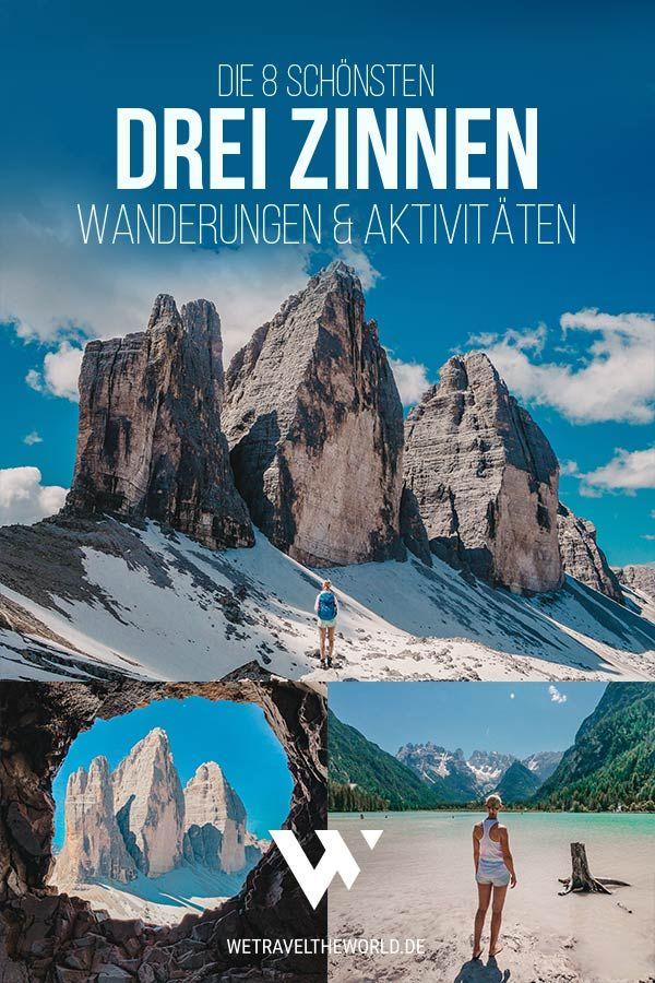 Drei Zinnen Dolomiten: Die 8 schönsten Wanderungen & Aktivitäten rund um die Drei Zinnen