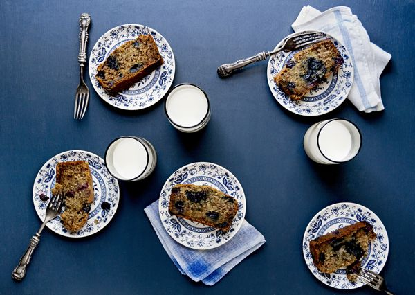 Vegan Blueberry Banana Bread Recipe Vegan Recipes Pinterest