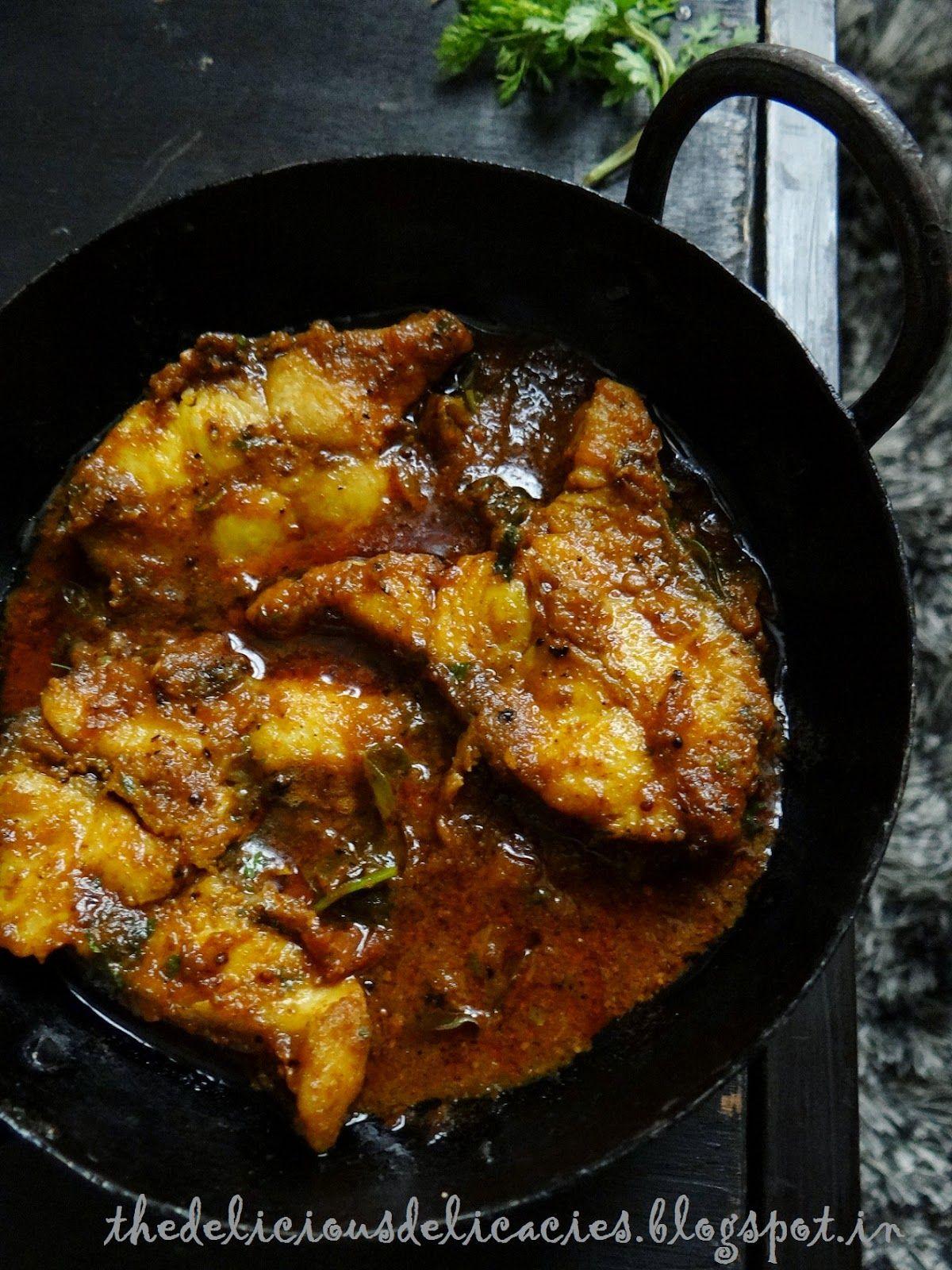 Chepa Iguru Andhra Fish Curry Fish Curry Indian Food Recipes Desi Food