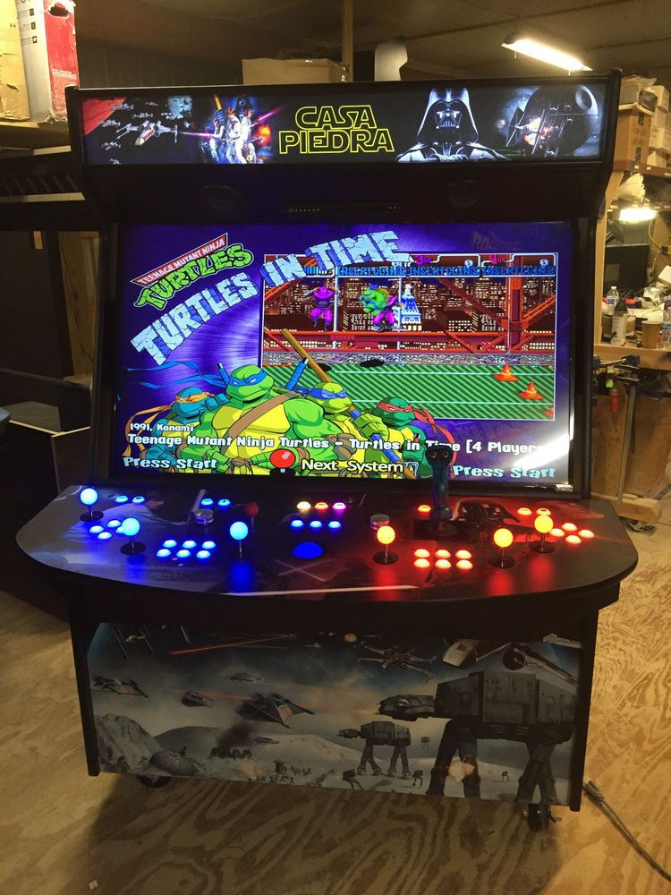 55 4 Player Home Video Arcade Game Mame Tm The Ultimate For