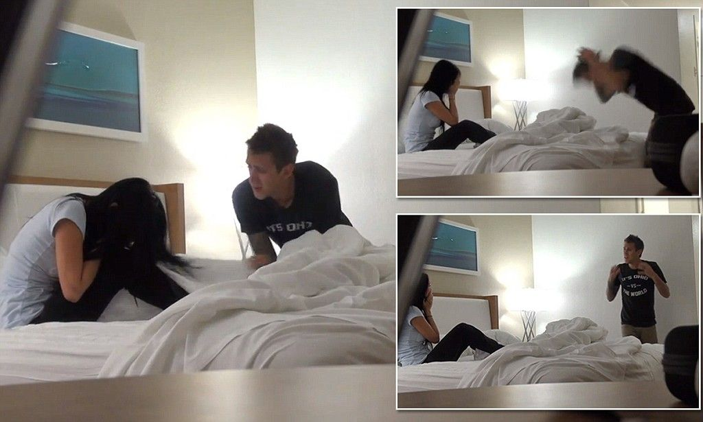 Man pranks girlfriend by saying he cheated but then the ...