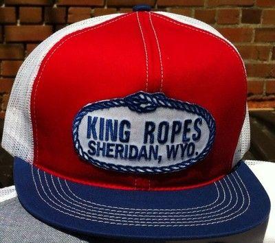 King Ropes Trucker Hat On Ebay In 2019 Mens Trucker Hat