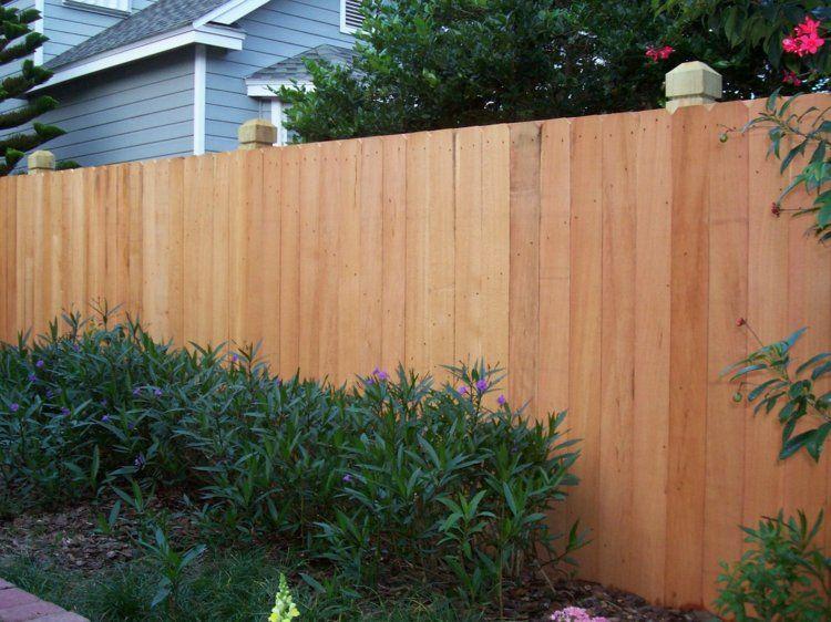 hoher gartenzaun als sichtschutz | haus garten | pinterest ... - Sichtschutz Aus Holz Gartenzaun Bauen