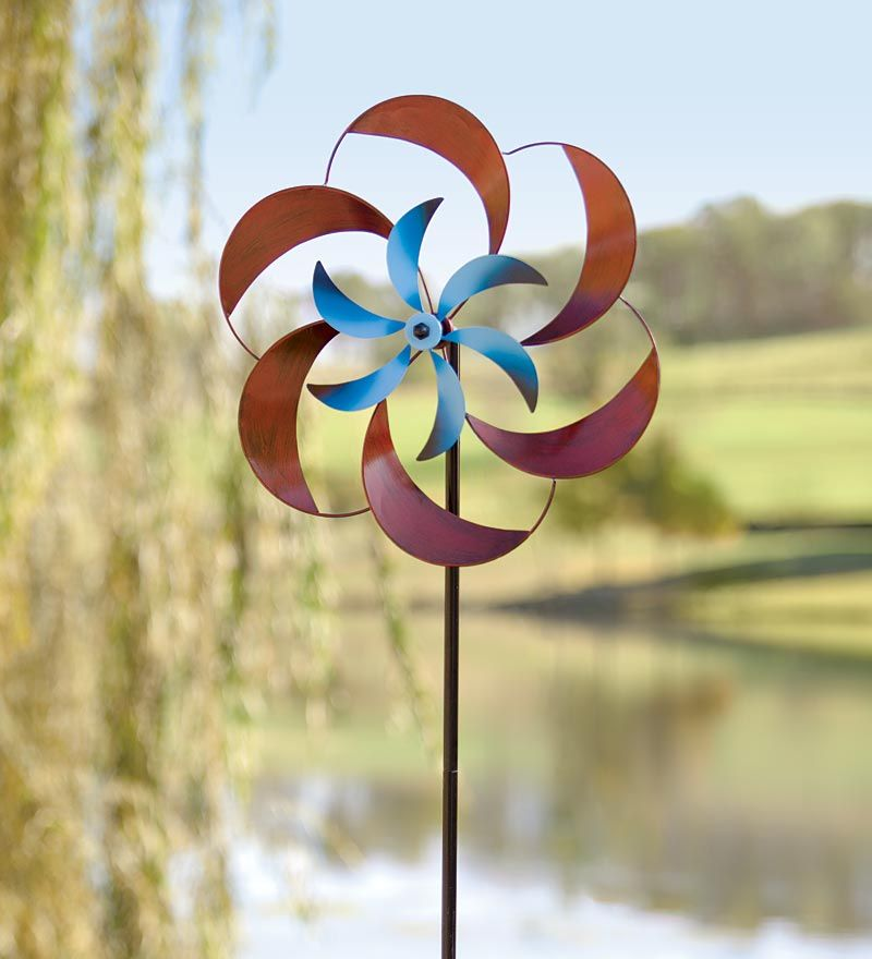 A Must See For Lovers Of Wind Spinners Deco Jardin Sculpture Metal Balustres