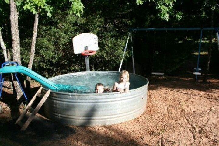 Redneck Swimming Pool Cooooooooooooooooooooooooooooool Pinterest