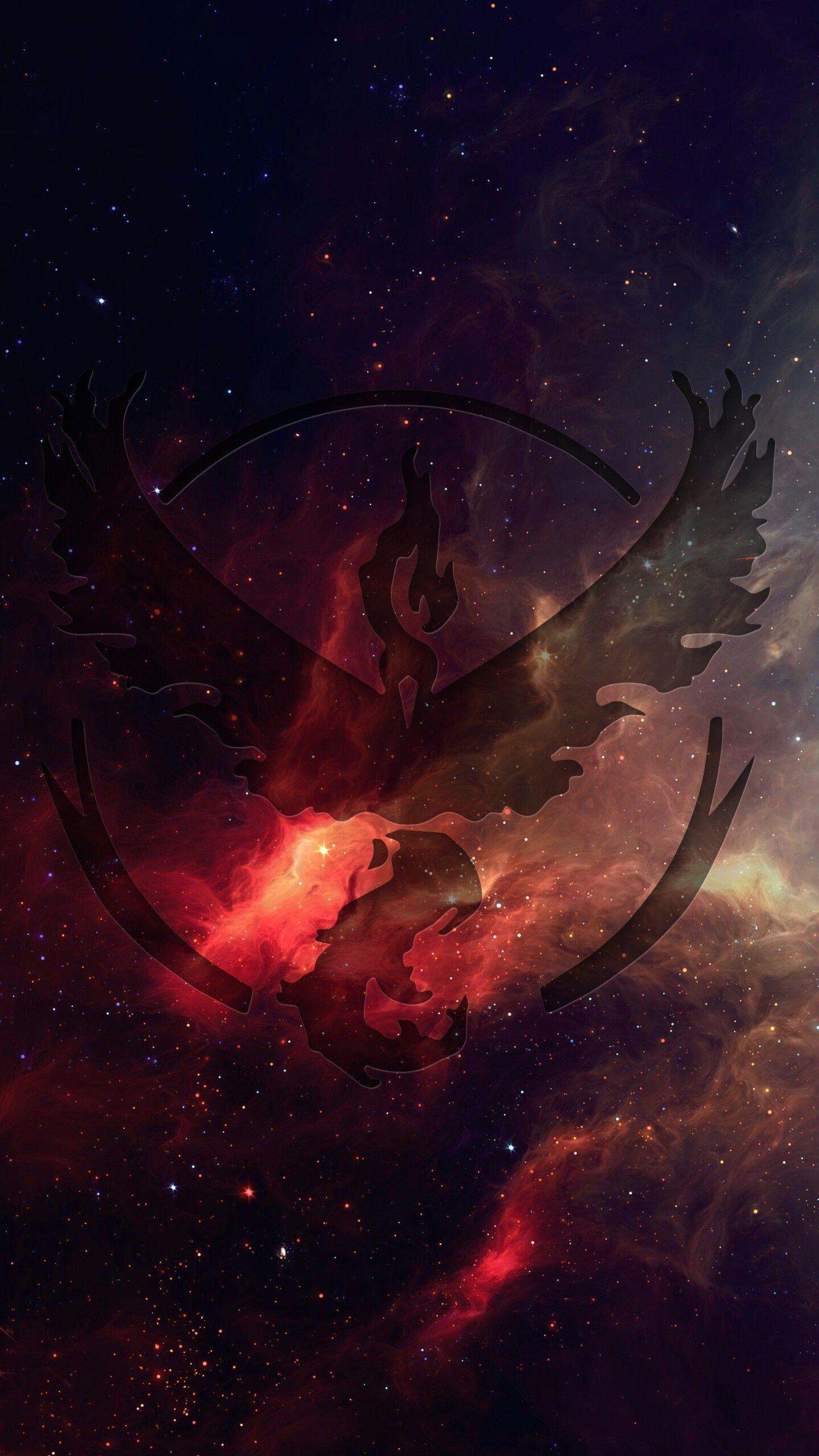 Team Valor phone wallpaper by Dougery on Imgur Pokemon