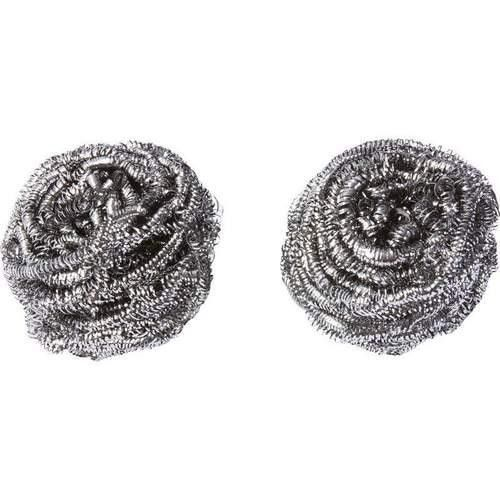 STAINLESS STEEL SCRUBBER - 2PK