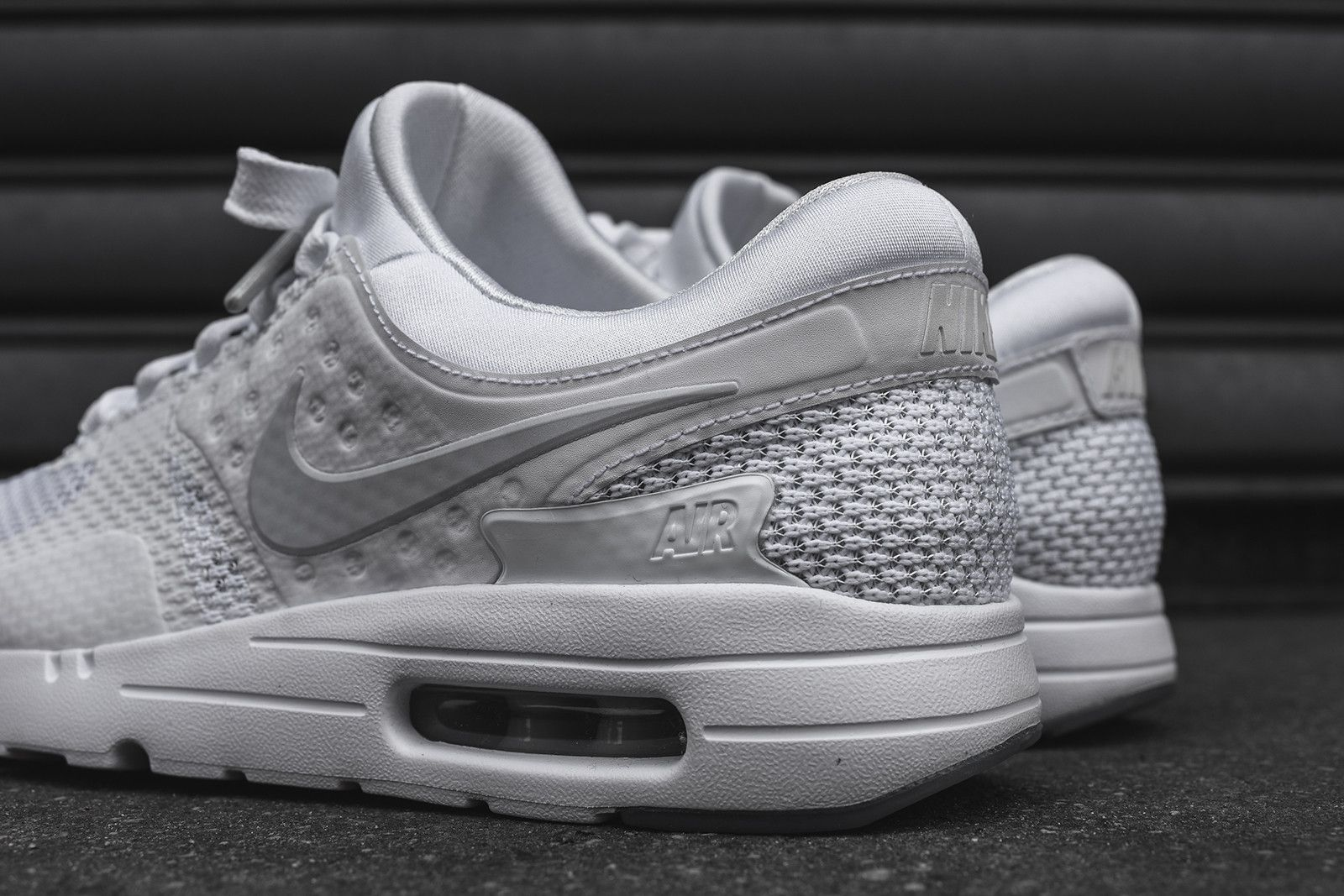 NIKE AIR MAX ZERO 'Triple White' (via Kicks