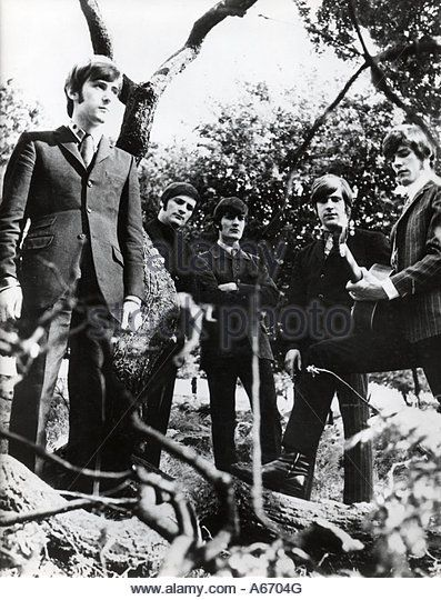 MOODY BLUES UK pop group in 1964 - one of their first group photos