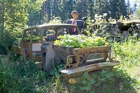 Autonromu kukkimaan!