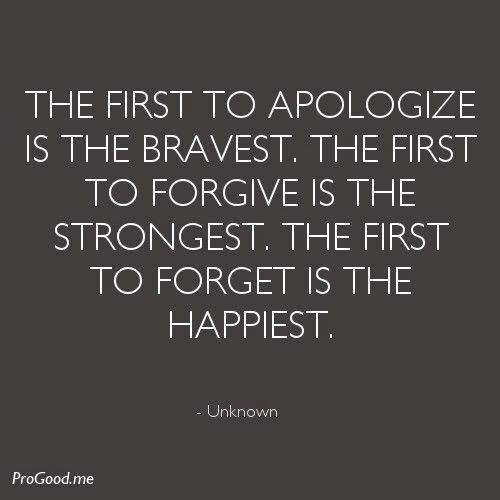 Always Forgive Quotes: Best 25+ Forgive And Forget Ideas On Pinterest