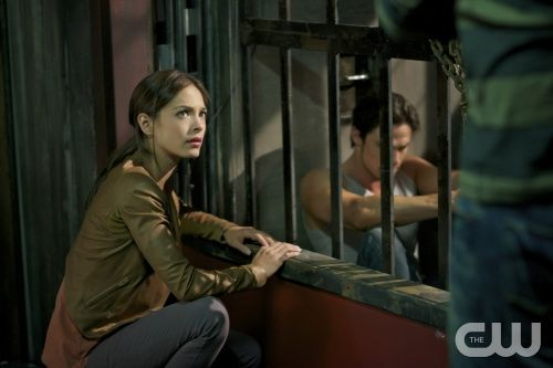 Beauty and the Beast -- Out of Control -- Pictured (L-R): Kristin Kreuk as Catherine and Jay Ryan as Vincent  -- Image Number: BB105b_0124r.jpg -- Photo: Sven Frenzel/The CW --  2012 The CW Network, LLC. All rights reserved.