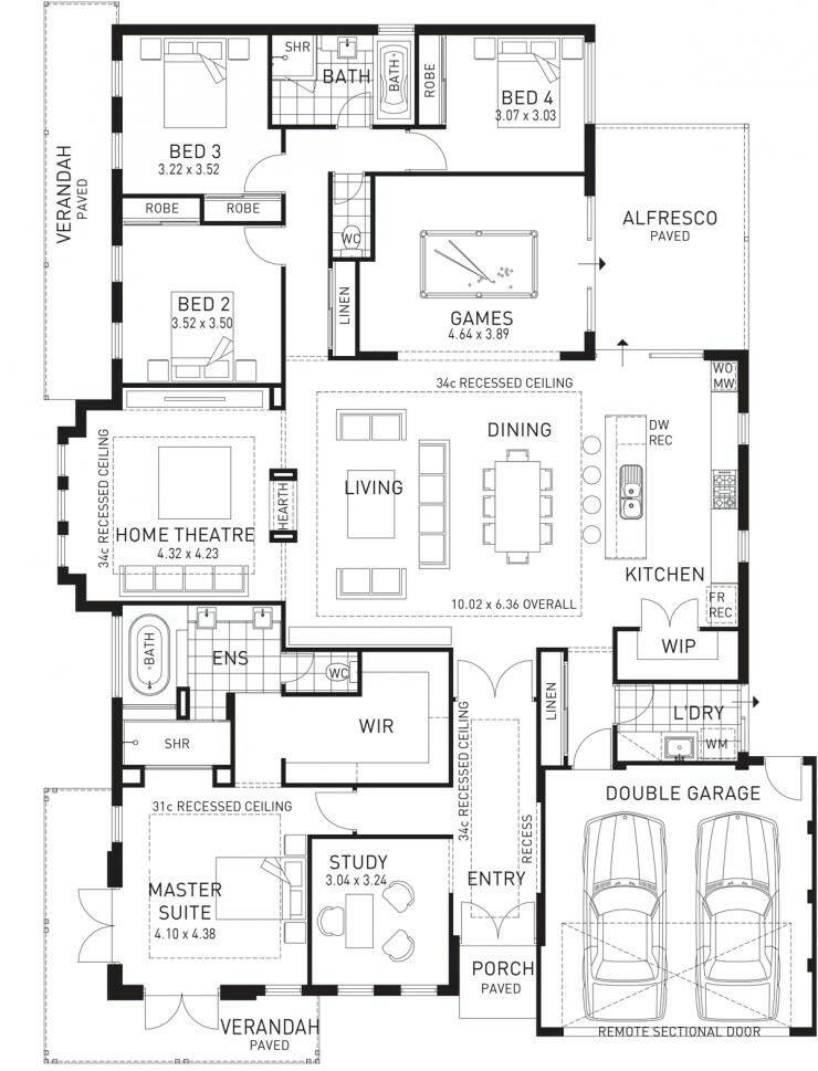 plan de maison maison familiale