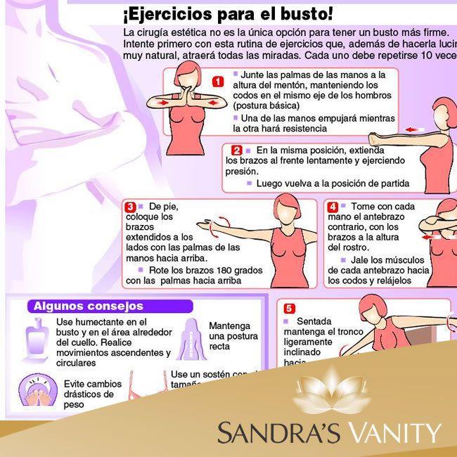 Mantener firme para ejercicios busto