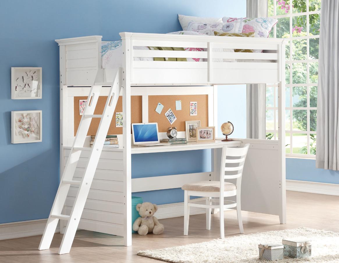 Twin loft bedroom ideas  costa twin loft bed with workstation  Da Bobs  Pinterest  Lofts