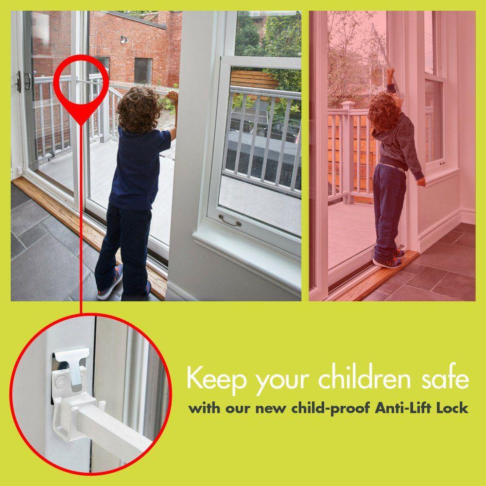 Ideal Security SK110 Patio Door Security Bar ChildProof Lock